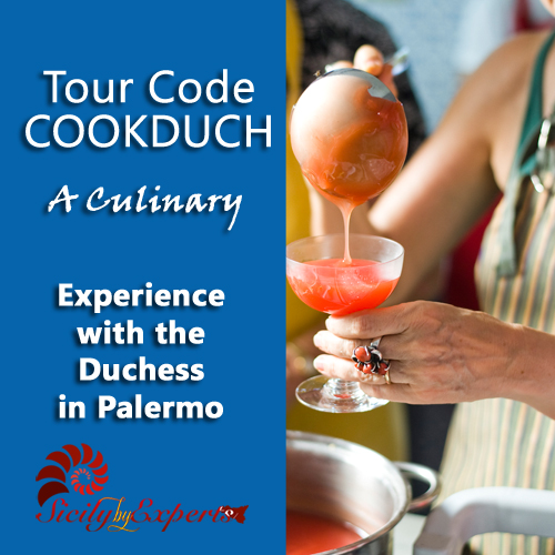 A culinary experiencewith the Duchess inPalermo